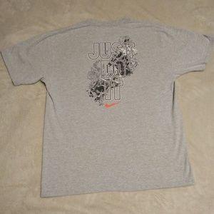 Heather Grey Nike T-Shirt